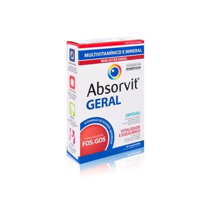 Absorvit Geral 30 comp