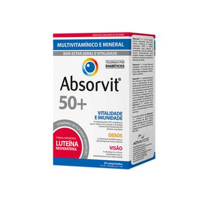 Absorvit 50+ 30 comp