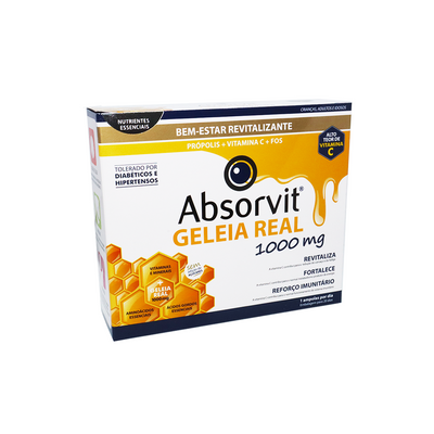 Absorvit Geleia Real Ampolas 20x10 ml