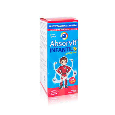 Absorvit Infantil Geleia Real Xarope