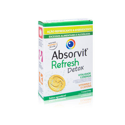 Absorvit Refresh Detox 12 comp