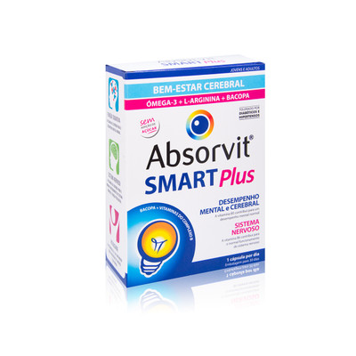 Absorvit Smart Plus 30 cáps