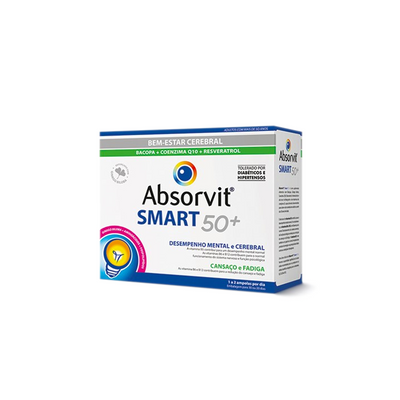 Absorvit Smart 50+ Ampolas 30x10 ml