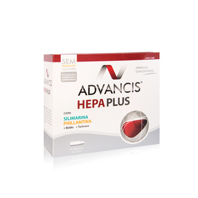 Advancis Hepa Plus Ampolas 20x15 ml