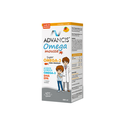 Advancis Omega Mousse Manga Xarope 100 ml