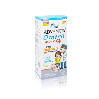 Advancis Omega Mousse Laranja e Lima Xarope 100 ml