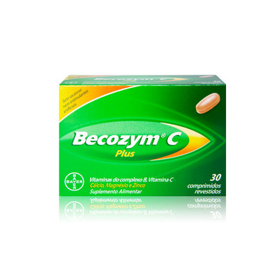 Becozym C Plus 30 comp