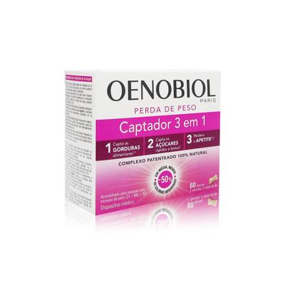 Oenobiol Captador 3 em 1 60 comp
