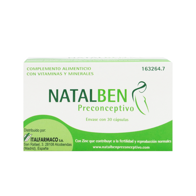 Natalben Preconceptivo 30 cáps