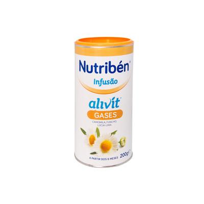 Nutribén Infusão Alivit Gases 200 gr