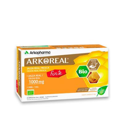 Arkopharma Arkoreal Geleia Real Forte 1000 mg 20 Ampolas