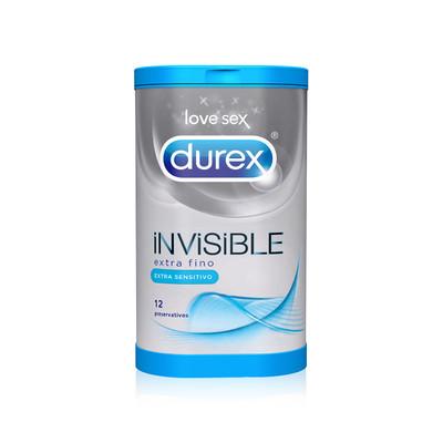 Durex Invisible Extra Sensitivo Preservativos 12 un