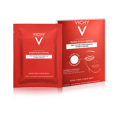 Vichy Liftactiv Micro Hyalu Patches Rugas Olhos 1x2 un