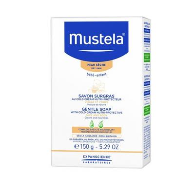 Mustela Sabonete Suave com Cold Cream Pele Seca