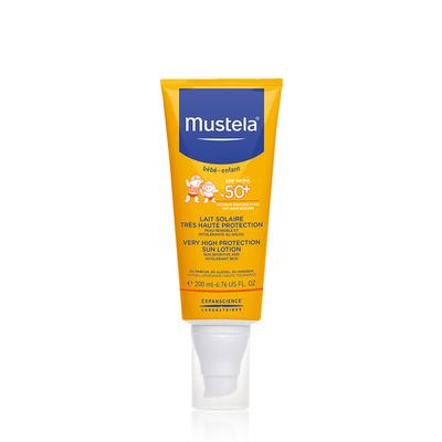 Mustela Solar Leite Protetor SPF50+ 200 ml