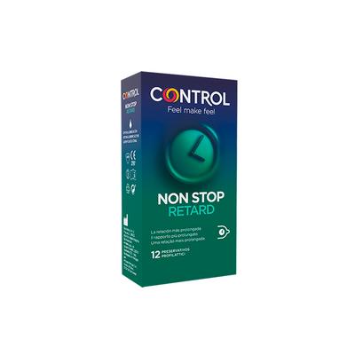 Control Stimulation Non Stop Retard Preservativos 12 un