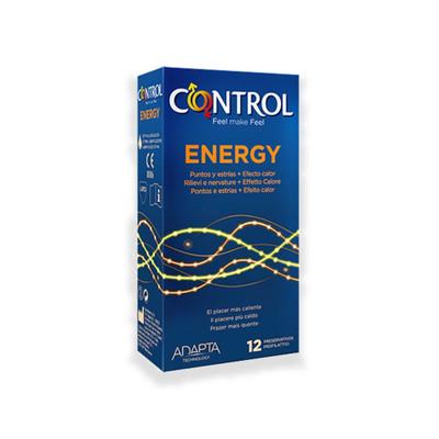 Control Stimulation Energy Preservativos 12 un