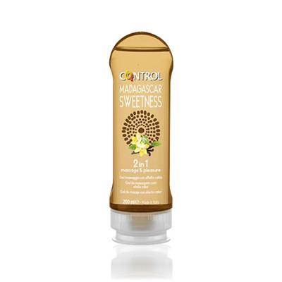 Control 2 em 1 Madagascar Sweetness Gel de Massagem 200 ml
