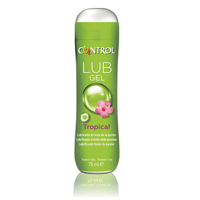 Control Pleasure Gel Tropical Lubrificante 75 ml
