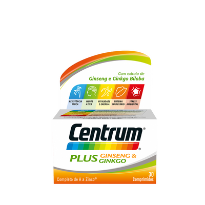 Centrum Plus Ginseng & Ginkgo 30 comp