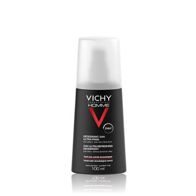 Vichy Homme Desodorizante Vaporizante Ultrafresco 100 ml