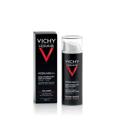 Vichy Homme Hydra Mag C+ Creme Hidratante Anti-Fadiga 50 ml