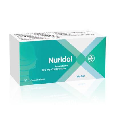 Nuridol 500 mg 20 comp