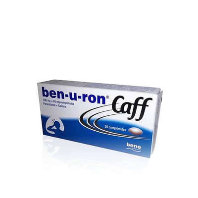 Ben-u-ron Caff 500 mg + 65 mg 20 comp