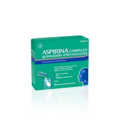Aspirina Complex 10 Saquetas