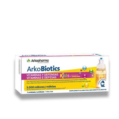 Arkopharma Arkobiotics Vitaminas e Defesas Kids 7 Unidoses