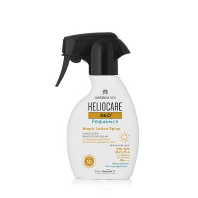 Heliocare 360º Pediatrics Atopic Lotion Spray SPF50 Loção Criança 250 ml