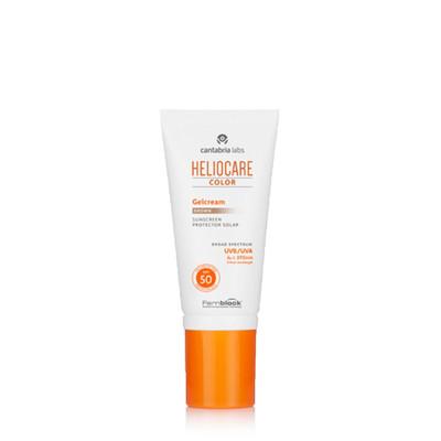 Heliocare Maquilhagem Gelcor Brown SPF50 Gel c/Cor 50 ml