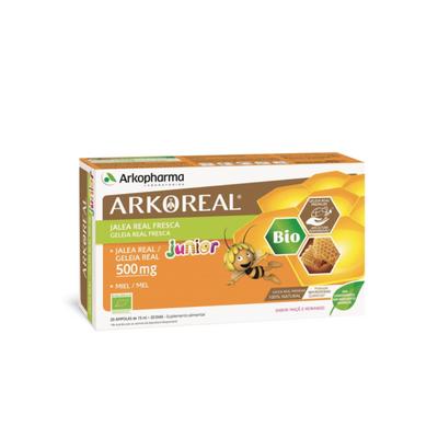 Arkopharma Arkoreal Geleia Real Júnior Bio 500 mg 20 Ampolas