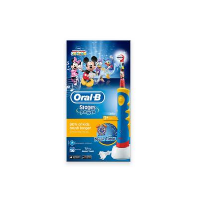 Oral-B Braun Stages Power Kids Mickey Escova de Dentes Elétrica