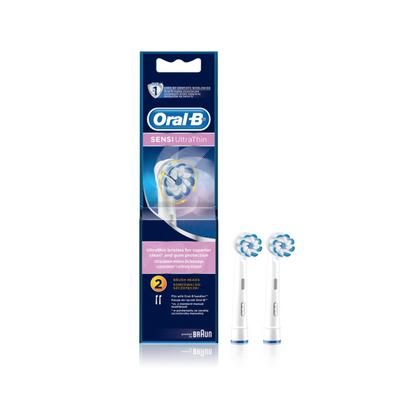 Oral-B Sensitive Recarga Escova de Dentes Elétrica 2 un