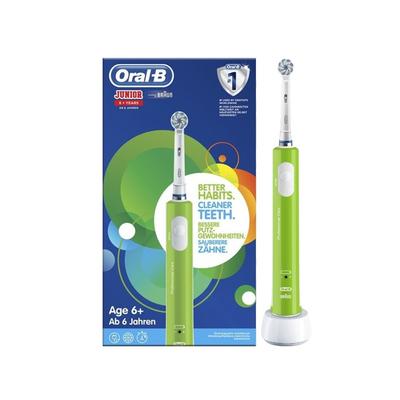 Oral-B Professional Care Júnior 6A+ Escova de Dentes Elétrica Verde