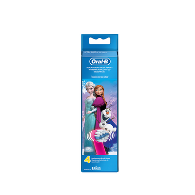 Oral-B Stages Power Frozen Kids Recarga Escova de Dentes Elétrica 4 un