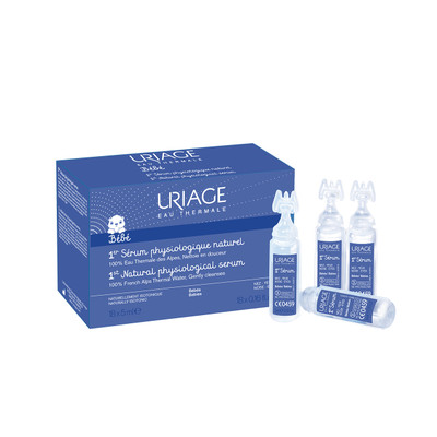 Uriage Bebé 1º Soro Fisiológico Natural 18x5 ml