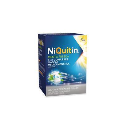 Niquitin Menta Fresca 4 mg 100 Gomas
