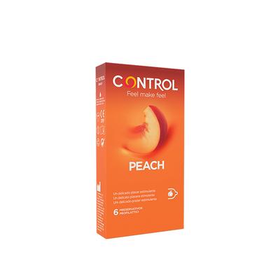 Control Essence Peach Preservativos 6 un