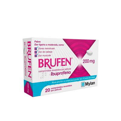 Brufen 200 mg 20 Comprimidos
