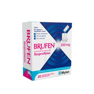 Brufen 200 mg 20 Saquetas Granulado Efervescente