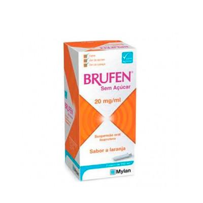 Brufen Sem Açúcar 20 mg/ml 200 ml Xarope