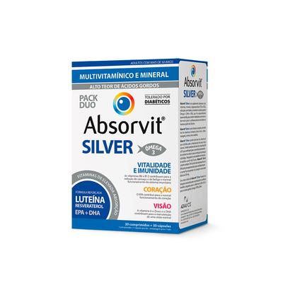 Absorvit Silver 30 cáps + 30 comp