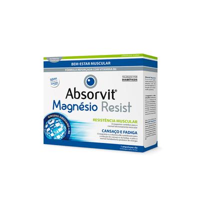 Absorvit Magnésio Resist Ampolas 10x10 ml