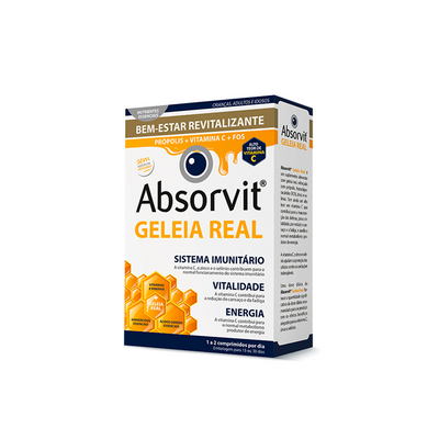 Absorvit Geleia Real 30 comp