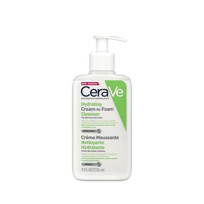 CeraVe Creme Espuma Hidratante de Limpeza 236 ml