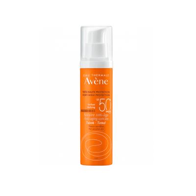 Avène Solar Creme Anti-Idade c/ Cor SPF50+ 50 ml