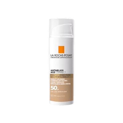 La Roche-Posay Anthelios Age Correct Creme c/Cor SPF50+ 50 ml