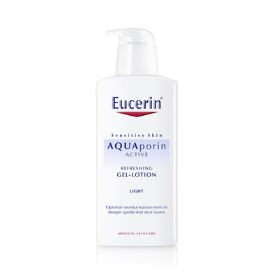 Eucerin AQUAporin Active Loção-Gel Refrescante 400 ml